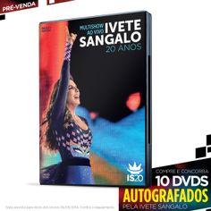 Pré-Venda DVD Ivete Sangalo 20 Anos Ao Vivo no Multishow #IveteSangalo #ISnoMultishow #IveteSangalo20Anos