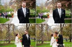 A Boston Public Garden Wedding so pretty!