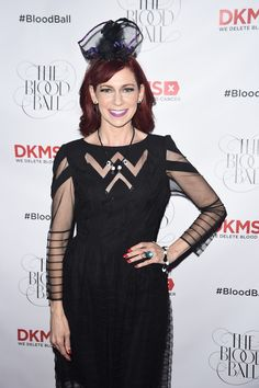 Actress Carrie Preston on the red carpet of the #BloodBall.  Photo Credit: Getty Images