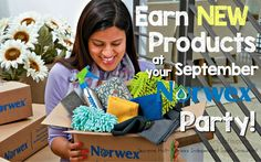 Show Off the NEW Fall 2017 Norwex Products at your September Party!!