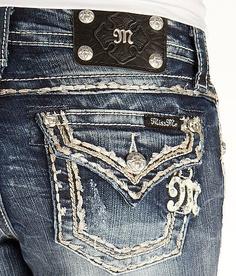 Miss Me Skinny Stretch Cuffed Jean - Women's Jeans | Buckle