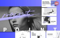 Point Presentation Template + FREE PPT