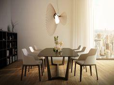 Loomiosa Space 96 pendant Park Hotel, Fascinator, Dining Table, Space, Pendant, Inspiration, Furniture, Design, Home Decor