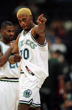 Dennis Rodman with Mavs