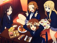 I got K-on which is one of my favorite anime series!!