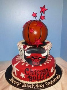 Chicago Bulls By flourjuice on CakeCentral.com