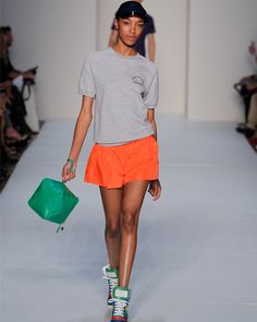 8a38643c3989 Marc Jacobs runway -- sporty chic Sporty Style