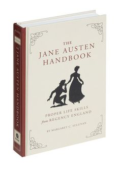 The Jane Austen Handbook, It won't take much persuasion for you to embrace the customs and charms inside this hardback guide to genteel life in the era of Jane Austen! #ModCloth