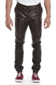 Kevin Shahroozi Leather Pants | Nineteenth Amendment