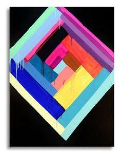 Big House NYC # 1 por Maya Hayuk