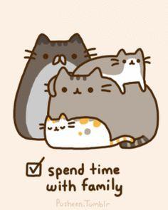 pusheen | Pusheen's Christmas to do list - Pusheen the Cat Photo (27845019 ...