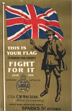Resultado de imagen para soldier british flag 1914