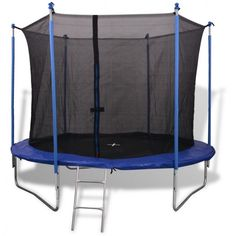 e4038d515ad9b 10Ft Outdoor Play Trampoline Safety Net Rain Cover Legs Ladder Jumping Toy  Game  10FtOutdoorPlayTrampoline Trampoline