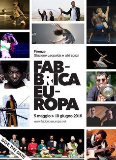 Save the date! Festival Fabbrica Europa 2016