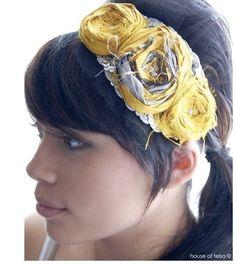Amazing fabric headband!!!