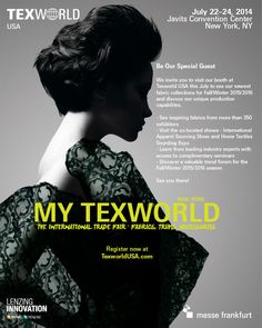 TEXWORLD USA 2014 - TEXTILE SOURCING AND SEMINARS