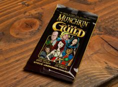 Munchkin The Guild Expansion Cards (Please note that every pack has the same cards in it so you only need to get one)