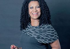 "Heloisa ""Zica"" Assis, owner of a Brazilian curly hair product range."