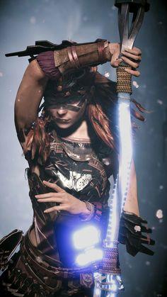 Warrior Girl, Warrior Princess, Video Game Art, Video Games, Horizon Zero Dawn Wallpaper, Sasuke Cosplay, Horizon Zero Dawn Aloy, Akali League Of Legends, Female Armor