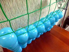 Блог Лещанова Сергея: Способ изготовления панно из воздушных шаров на сетке. Инструкция по изготовлению.
