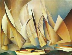 #PertainingtoYachtsandYachting#Print #CharlesSheeler #abstract #vintage #art #ship #ocean #nautical #marine #oakwoodview #oakwoodviewtoo #evt by OakwoodView