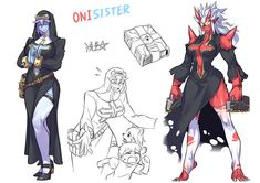 Female Character Design, Character Design Inspiration, Character Concept, Character Art, Fantasy Characters, Female Characters, Monster Girl Encyclopedia, Super Anime, Anime Monsters