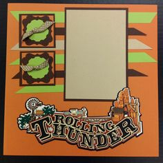 Rolling Thunder page idea from Paper Wizard