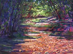 Big Sur Campground Painting