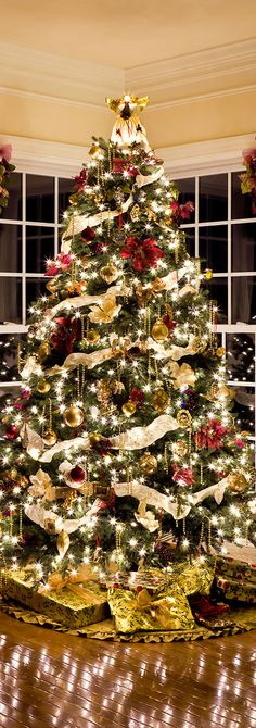 Shonna Fox Interior Design | Professionally Decorated Christmas Tree