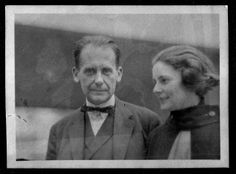 Unknown photographer, Walter Gropius and Ise Gropius, ca. 1927-28 Bauhaus-Archiv Berlin