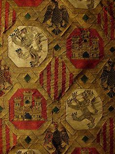 Catedral de Santa María de Toledo detalle textil