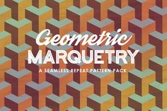 Geometric Marquetry Patterns  @creativework247