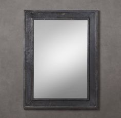 Banded Zinc Mirror