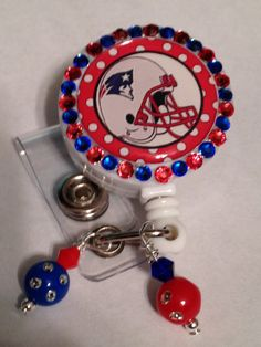 Hey, I found this really awesome Etsy listing at https://www.etsy.com/listing/235967564/nifty-bling-badge-reel-sports