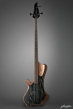 Bass of the Week: Padalka Guitars Ennea Hotchkiss Bass Cigar Box Guitar, Music Guitar, Guitar Chords, Cool Guitar, Acoustic Guitar, Custom Bass Guitar, Custom Electric Guitars, Custom Guitars, Unique Guitars