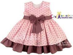 Resultado de imagem para vestido de festa infantil 1 ano rosa