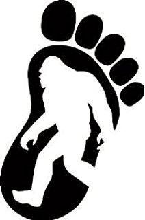 Yeti Bigfoot Footprint Sasquatch Believe Styling Car Sticker Jeep Off Road Vinyl Decal - Car Window, Laptop, Wall, Room Vintage Jeep, Window Stickers, Bumper Stickers, Yeti Stickers, Lightning Mcqueen, Disney Cars, Cricut Vinyl, Vinyl Decals, Monogram Car Decals