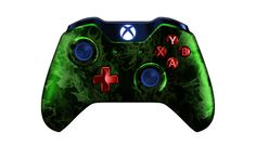 XboxOneController-GreenFire | Flickr - Photo Sharing! #xboxonecontroller #xbone #xbox1controller #customcontroller #moddedcontroller