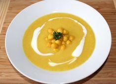 Csicseriborsó krémleves Thai Red Curry, Food And Drink, Menu, Soup, Cooking, Breakfast, Ethnic Recipes, Turmeric, Menu Board Design