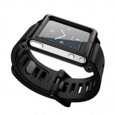 LunaTik TickTok LunaTik Black iPod Nano Watchband LTBLK-002