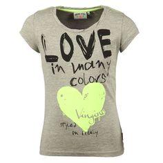 Vingino 2014 Girls T-shirt Korte Mouw Hildemar Grijs | Kinderkleding, Kindermode en Babykleding www.kienk.nl |