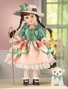 Collectible Countryside Catherine Porcelain Doll