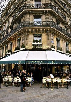 Spot de Flore and Les Deux Magots - 8 Sights you Must See in Paris, France