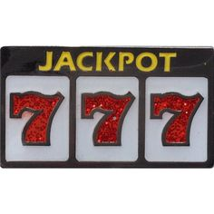 Slot machine jackpot 777 ball marker & hat clip by readygolf. Peter O'toole, 4 H, Golf Ball Crafts, Overlays, It's All Happening, Slot Machine Cake, Design Tattoo, Casino Theme, Casino Room