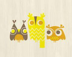 three owls    Jeanie Nelson