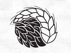 "Yin & Yang of Beer by Mikey Lemieux (please take a second to ""like"" on Dribbble)"