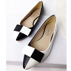 scarpe da donna punta aguzza appartamenti casuali di colore f9b9d2dab65