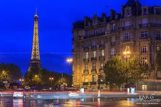 Tour Eiffel from Alma