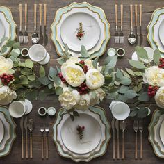 Happy merry everything from our table to yours! Getting excited for our annual Chinese takeout Christmas feast at #casadecasadeperrin with our Anna Weatherley Chargers in Aqua Sky + Anna Weatherley Dinnerware + Heath Ceramics in Opaque White + Teak Flatware + Vintage Milk Glass Goblets + Jadeite Salt Cellars #cdp3x3