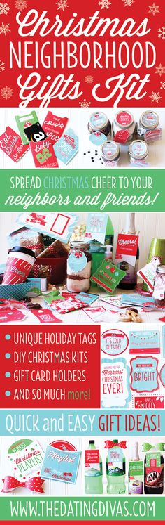 Christmas gift ideas for EVERYONE! Neighbors, co-workers, friends, I LOVE this! www.TheDatingDivas.com